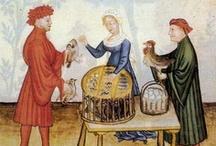 Abb. civile Maschile / Raccolta iconografie e reperti di abbigliamento civile maschile dal X al XVI sec.