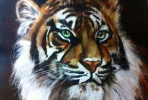 Animals art by amber brook / Animals of the world big and small