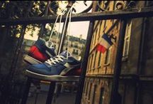 "Paris / Are you a sneakers maniac? ""Voilà"" our limited edition shooted in Paris."