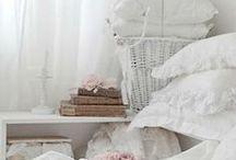 in huis / brocante en romantische inrichting