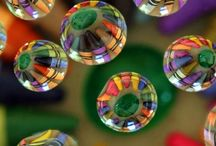 bubbles and rain drops / by karen jordan