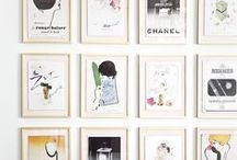 Art wall, how to hang your art / art , home how to hang you art work