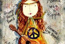 BOHO HIPPIE GYPSY PEACE LOVE / A wonderful fun trip through the world of Hippie/Boho and Gypsy clothing, decor, fun ideas!    / by YankeeCaliGirl S. Gillette