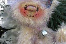 Dusty Attic Bears  & Bagster Bears & Cats +The Bear Garden