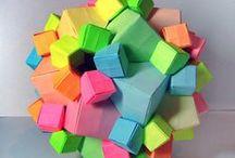 columbus cube  origami