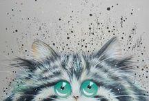 Kim Haskins  cats  poezen
