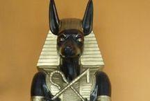 Egyiptomi szobrok / http://kertidisz.hu/egyiptomi  Egyiptomi szobrok a Kert-Lakás Galériában