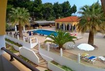 Hotel Amari / Amari Hotel  The Amari Hotel is located in the small village in Sithonia-Halkidiki Metamorfossi.It is an apartment complex with a total of 31 residential units for 2-5 people (35-40 sqm) and 4 apartments for 2 persons, grouped in a well-kept gardens around the swimming pools. Our family-run hotel is very suitable for a relaxing family holiday. Both for large and for the younger guests, offers the opportunity for a relaxing and enjoyable holiday.