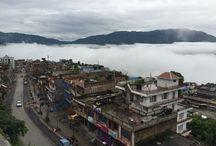 Aftershocks in Nepal