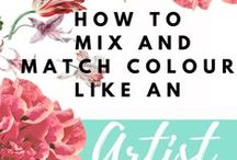 Colour theory / Colour for beginners , artist, colours , paint and watercolour paintings, Tips, learn about colours , how to use colours, colour on the true theory