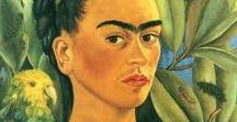 Artist's self-portraits / artist's self-portraits, drawing paintings