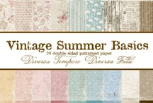 Vintage Summer Basics / by Maja Design