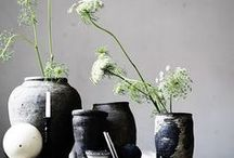 Decor::flower+plant arrangement / interior design sources / by Charlotte Chen