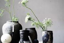 Decor::flower+plant arrangement / interior design sources / by Charlotte Chen
