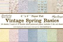 Vintage Spring Basics / by Maja Design