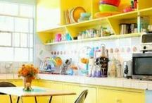 HOME / Fun & colourful ideas and pieces for your home.