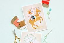 Crafts - Printables, Downloadables & Fonts / by Sarah Clayton
