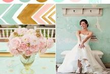 Wedding colour palette