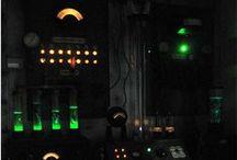 Mad Scientist Lab & Strickfaden