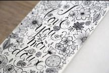 Le Papier x Audrey Leroy / Dessins d'Audrey Leroy sur son tout nouveau carnet de dessin Le Papier fait de la Résistance ...
