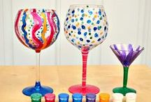 FUTURE BAC IDEAS - Glass Painting / Etching