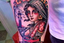 Tattoo traditional / TATTOOS