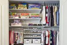 Organizing Kid's Closets / Inspirational ideas for closet organization. See more at www.meganzeni.com