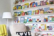 Organizing Kid's Books / Engaged and skilled readers come from homes with books! Read more at www.roomtoplay.ca