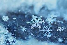 Schneeflocken/Snowflakes / Schöne Bilder von Schneeflocken / by Uschi Iseli