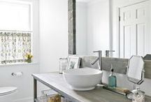 BATHROOMS BUDGET,DIY,AND FEW GLAMOUR BATHROOMS / BATHROOMS GLAMOUR ,BUDGET, STORAGE IDEAS LOTS OF DIY / by Scraptime @ Clearview Scraps