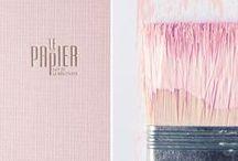 La Vie en Rose / couleur rose, design rose, pink,