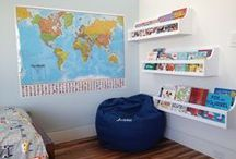 Organized Kid's Bedrooms / Make room to play and create calm spaces for retreat in your children's bedrooms! Read more at www.meganzeni.com