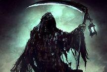 Grim Reaper & Death