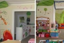 Child Care Environments: Before and After / Facilitator Yu Fong Wang provides expert assistance in transforming spaces into ideal child care environments.
