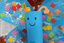 Crafty Kids Ideas / Simple and fun arts and crafts ideas for kids!