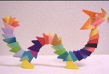 Basteln / Alles was mit Basteln zu tun von Sterne über Origami bis hin zu Faltarbeiten.
