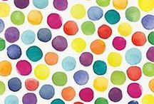 DOTS & SPOTS / Colourful patterns and illustrations full of fun.