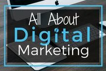 All About Digital Marketing / To put it simply, digital marketing is key to building a profitable online business - how else will you get the word out about your growing empire?   By using social media, email marketing campaigns, and a website to market your business, you can see your profits skyrocket.