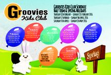 We love Kids Club's / During School Holidays, Your Children Can Enjoy Our Groovies Kids Club!!