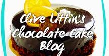 Clive Littin's Chocolate Cake Blog / Each blog carries a brief and simple message - thoughtful words to uplift and inspire you. And maybe as yummy as a slice of chocolate cake!