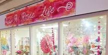 A ROSIE LIFE SHOP / Pictures and scenes from the A Rosie Life Shop in The Covered Market Oxford.