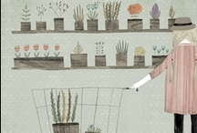 illustrations / As an illustrator, I am so happy that Pinterest exists so that I have a place to gather all of the awesome & inspiring images from other illustrators I find online :)