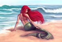 Ariel: The Little Mermaid / by Patricia Cooper-Carrier