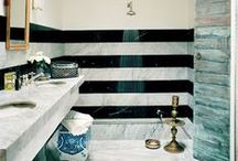 BATHROOMS / by Brittany Reynolds | FOR THE LOVE OF GOLD