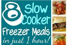 Make-ahead Meals / Make-ahead freezer meals for after the baby arrives.