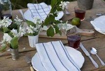 Inspiración mesas bonitas / Viste tu mesa para la mejor fiesta. #decoracion #table #gathering