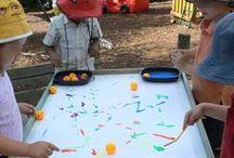 preschool art ideas / 3, 4, & 5 year old children / art activities for 3, 4, & 5 year old children.