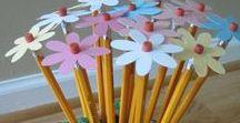 kids and school crafts