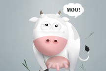 Characters | Mascots | Idiot faces / by Stanislav Hristov