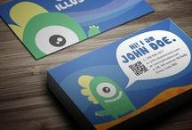 4Print: Business Cards, Leaflets, Goodies, etc... / by Stanislav Hristov